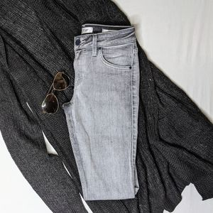"Guess grey ""shape-up"" grey jeans"